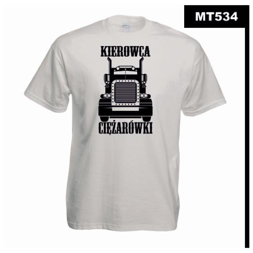 Koszulka MOTORYZACJA MT534 Kierowca Ciężarówki TIR